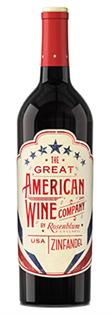 The Great American Wine Company Zinfandel...